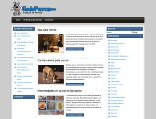 esdeperros.com screenshot