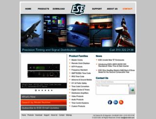 ese-web.com screenshot