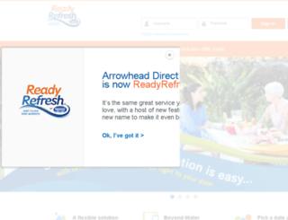 eservice.arrowheaddelivery.com screenshot