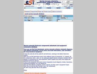 eserviceinfo.com screenshot