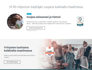 eset.fi screenshot
