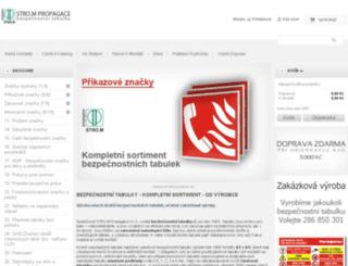 eshop-tabulky.cz screenshot