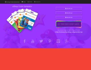 eshop.codegenerator.xyz screenshot