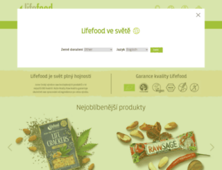 eshop.lifefood.cz screenshot