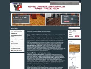 eshop.podlahypraha.cz screenshot