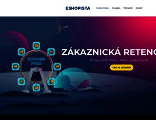 eshopista.cz screenshot
