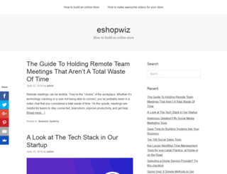 eshopwiz.com screenshot