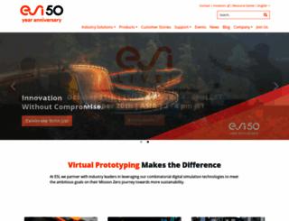 esi-group.com screenshot