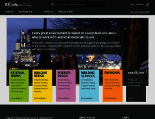 esi.info screenshot