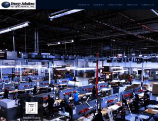 esilighting.com screenshot