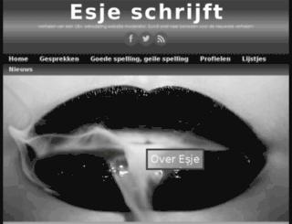 esjeschrijft.nl screenshot