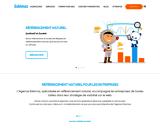 eskimoz.fr screenshot