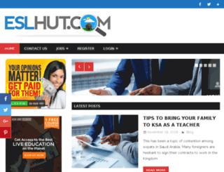 esl-hut.com screenshot