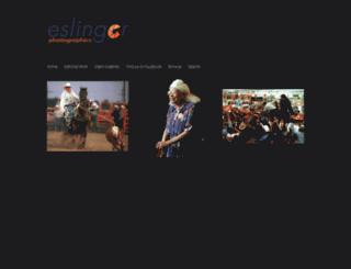 eslingerphotographics.com screenshot