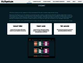 eslreports.com screenshot