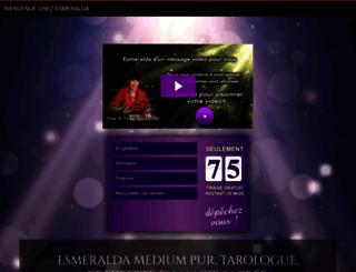 esmeralda-voyance.com screenshot
