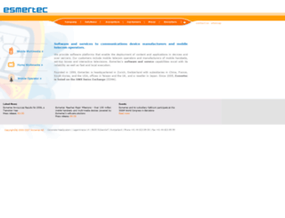 esmertec.com screenshot
