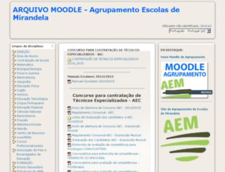 esmirandela-m.ccems.pt screenshot