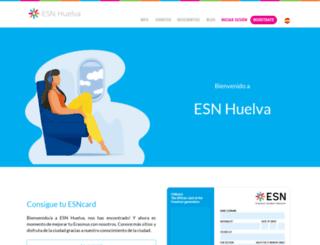 esnhuelva.org screenshot