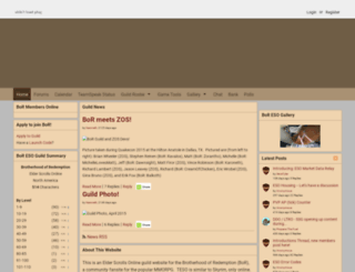 eso.borguild.com screenshot