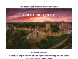 esotericquest.org screenshot