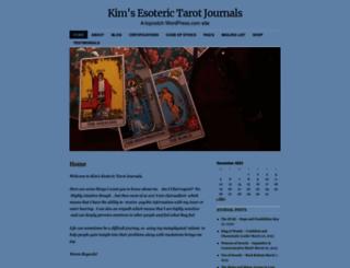 esoterictarotjournals.com screenshot