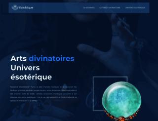 esoterique.fr screenshot