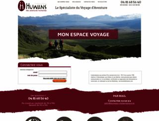 espace-voyage.huwans-clubaventure.fr screenshot