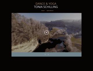 espacedanse-schilling.ch screenshot