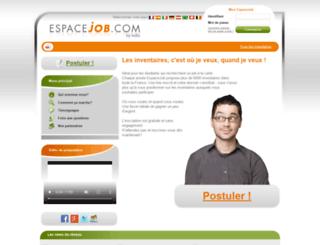 espacejob.com screenshot