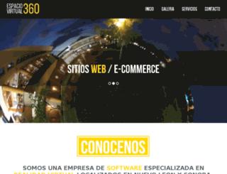 espaciovirtual360.com.mx screenshot
