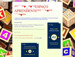 espacoaprendente.blogspot.com.br screenshot