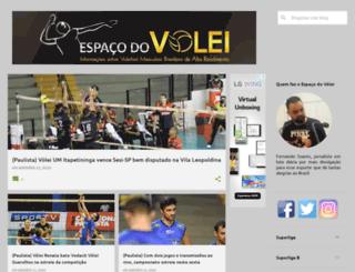 espacodovolei.com screenshot