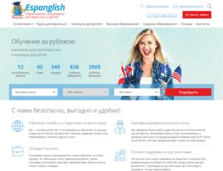 espanglish.info screenshot