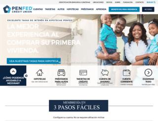 espanol.penfed.org screenshot