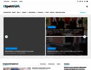 espektrum.sk screenshot
