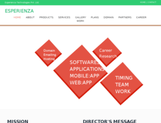 esperienza.co.in screenshot