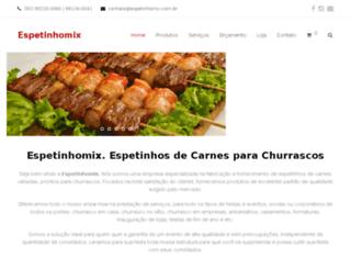 espetinhomix.com.br screenshot