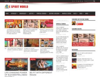 espiritworld.com screenshot