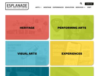 esplanade.ca screenshot