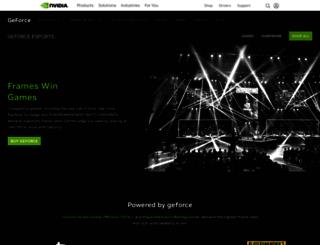 esports.geforce.com screenshot
