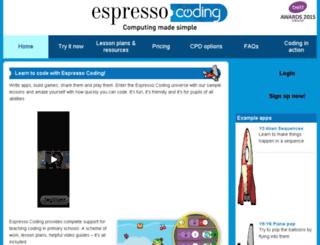 espressocoding.co.uk screenshot