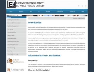 essence-x.org screenshot