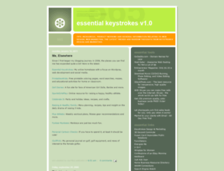 essential-keystrokes.blogspot.nl screenshot