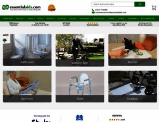 essentialaids.com screenshot