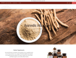 essentialayurveda.co.uk screenshot