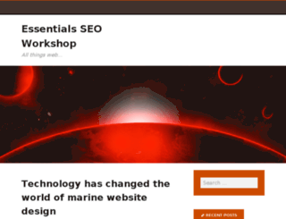 essentialsworkshop.com screenshot