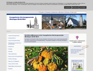 esslingen-mettingen-evangelisch.de screenshot
