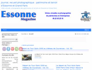 essonne-magazine.fr screenshot