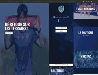 estac.fr screenshot